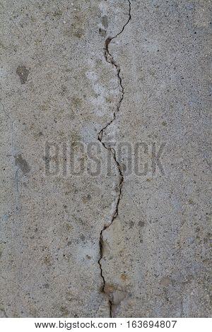 cracked broken concrete wall grunge grim texture