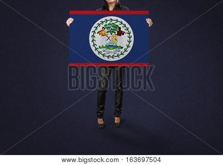 BELIZE State, BELIZE Flag Design and Presentation