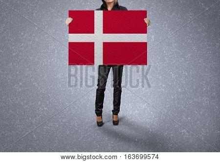 DENMARK Flag Design and Presentation, DENMARK Flag