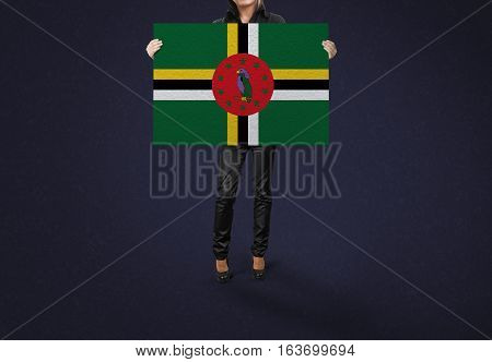 DOMINICA Flag Design and Presentation, DOMINICA Flag