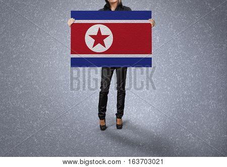 NORTH KOREA Flag Design and Presentation, NORTH KOREA Flag