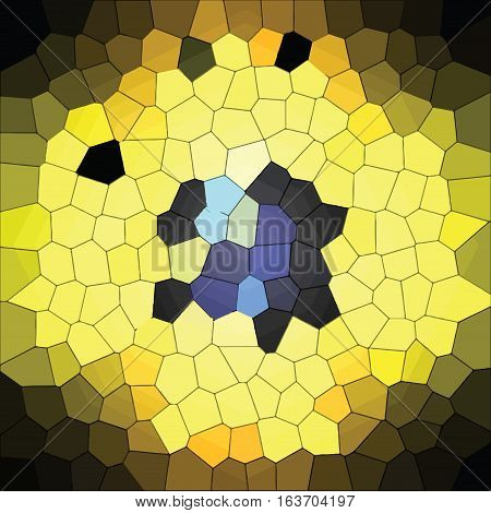 computer generated abstract background - yellow light