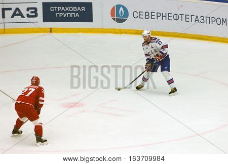 Ilya Kovalchuk (17) In Action