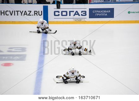 A. Evseenkov (7), A. Vorobyov (98), C. Wilson (4)