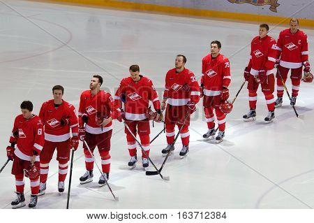 Spartak Team On Himn