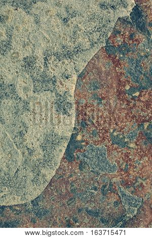 Naturally red and gray patterned slate surface for background toned (Digitally Altered: Toned Image)