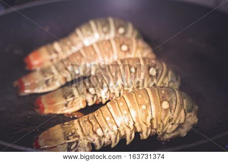 Lobster Tails Ready To Eat