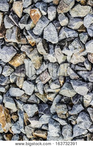 Photograph of some polygonal rocks texture or background