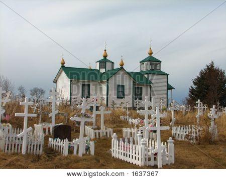 Rural Alaskan Russian Orthodox Church