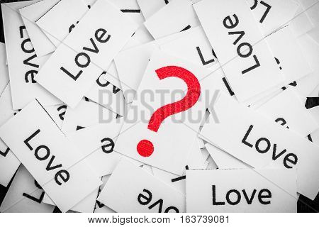 Questions about the Love too many love label
