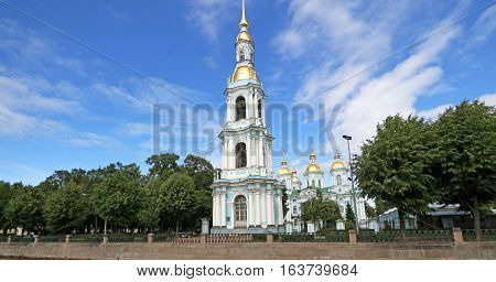 St Nicholas Naval Cathedral, St Petersburg, Russia