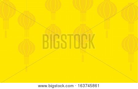 Background of lanterns vector art collection stock