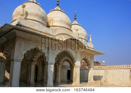 Nagina Masjid (gem Mosque) In Agra Fort, Uttar Pradesh, India