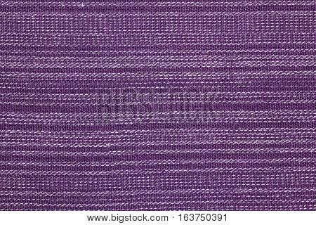 Purple fabric texture pattern or fabric background for design with copy space for text or image.