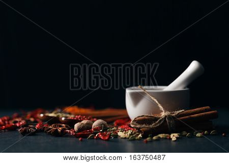 Mix Of Aromatic Spices