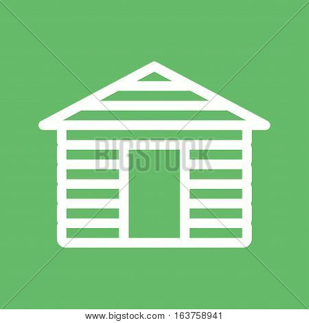 House, wood, cabin decoration icon vector image. Can also be used for oktoberfest. Suitable for use on web apps, mobile apps and print media.