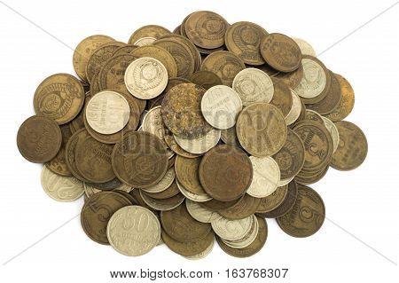 Heap Of Old Soviet Union Expired Money