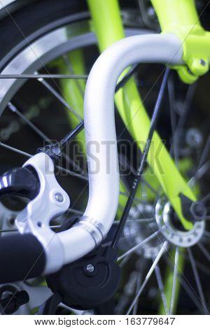 Folding City Commuter Bike