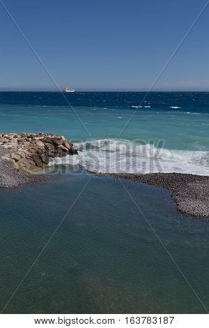 Nice Harbor France Riviera