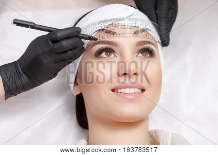 Permanent Makeup Eyebrows.