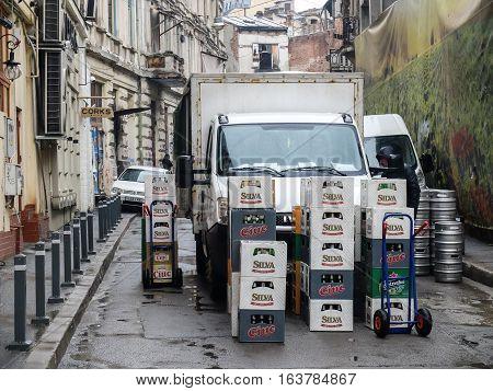 Delivering Beer