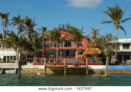 Red House By The Sea