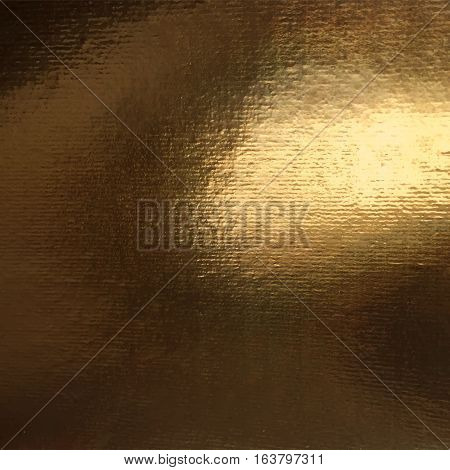 Vector Golden Foil Background