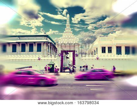 Royal palace thailand.Bangkok city landmarks.Exotic travels and adventures .Thailand trip.Buddha and landmarks