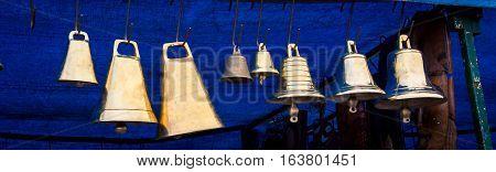 Bells at a market Feria de Mataderos