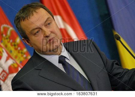 Belgrade, Serbia. December 13Th 2016: 35Th Meeting Of The Council Of Ministers Of Foreign Affairs Of