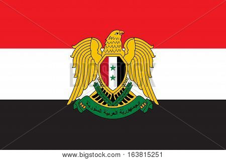 Flag of Syria officially the Syrian Arab Republic is a country in Western Asia