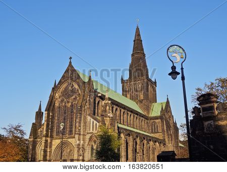 Athedral Of Saint Mungo In Glasgow
