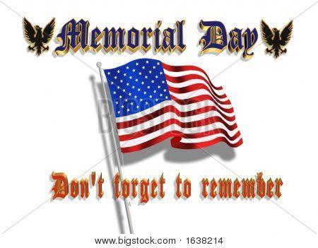 Memorial Day Flag 2