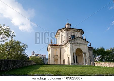 Fourteenth Chapel At Sacro Monte Di Varese. Italy