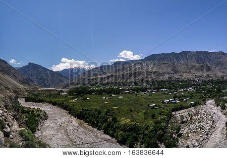Kunar aka Chitral or Kama river near Lowari pass Khyber Pakhtunkhwa province Pakistan