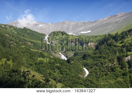 Alps landscape in Austria. Hohe Tauern National Park. poster