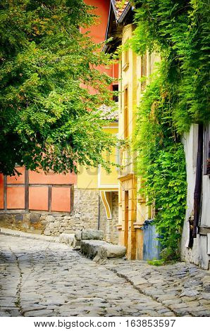 European Capital of Culture in 2019: Plovdiv Old Town Bulgaria