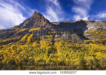 Lamoille Canyon Is The Largest Valley In The Ruby Mountains, Located In The Central Portion Of Elko