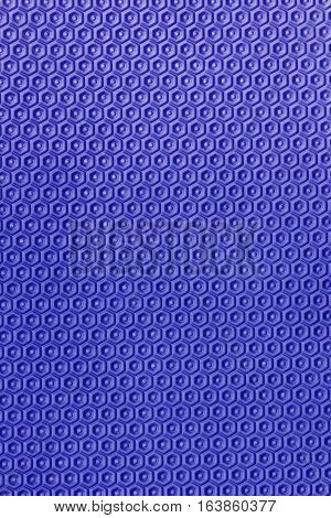 close up Blue Eva ethylene foam texture