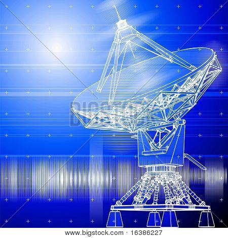satellite dishes antena