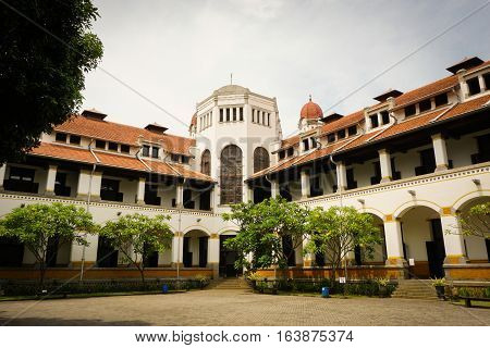 Lawang Sewu as on of heritage building in Semarang Indonesia java