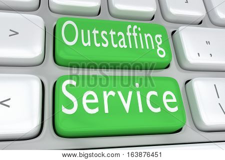 Outstaffing Service Concept