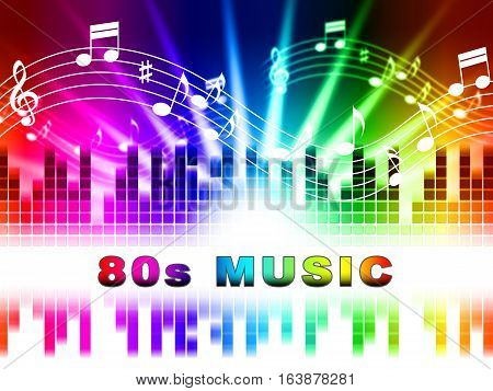 Eighties Music Shows Acoustic Songs And Soundtrack