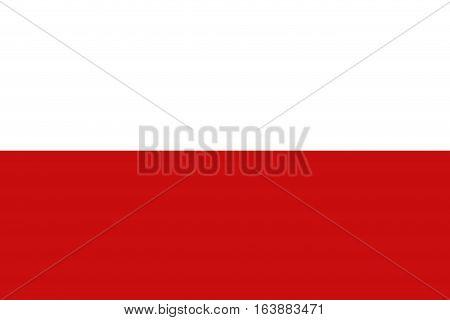 Monaco flag ,Monaco national flag illustration symbol.
