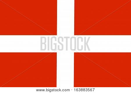 Malta flag illustration symbol. Sovereign military order of malta
