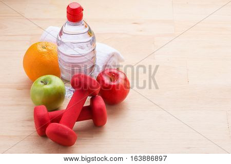 Fitness and weight loss concept. Fitness and health. Isolated on white background