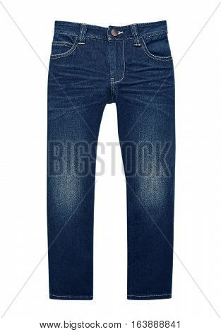 Trousers isolated on white with Clipping Path