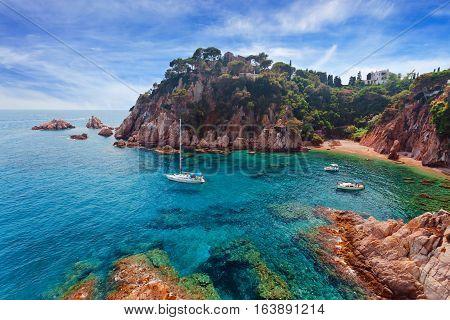 Seascape . Mediterranean Coast Of Spain