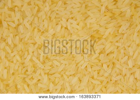 Background of the raw long grain rice