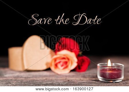 Save The Date Background